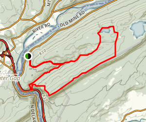 Karamac-Dunnfield Creek Loop Trail Map