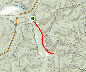 Blue Spring Trail Map