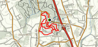 Henry's Woods and Jacobsburg Trail Map