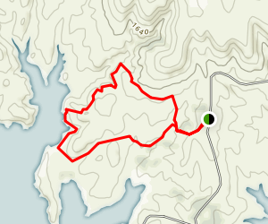 Rock Town Trail Map