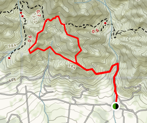 McMenemy Trail Map