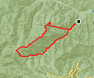 South Fork of the Rio Bonito Trail Map