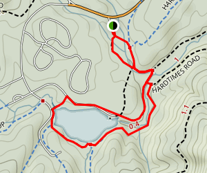 Bent Creek Educational Forest Trail Map