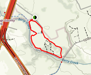 Muy Grande Loop Trail Map