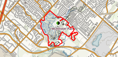 McAllister Park Blue Loop Trail Map