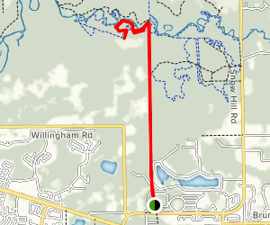 Landing Strip Trail Map