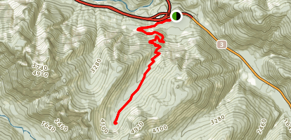 Hope Mountain Trail Map