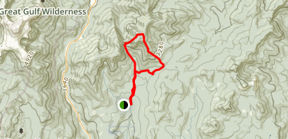 Carter Dome Trail Map