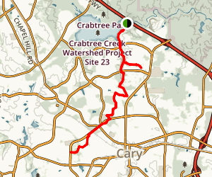 Black Creek Greenway Trail Map