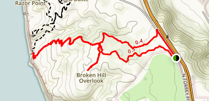 Broken Hill Trail Map