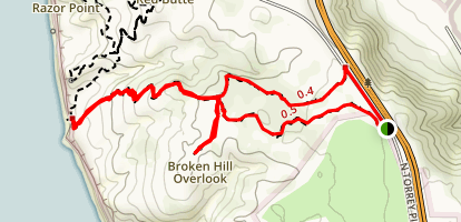Broken Hill Trail [CLOSED] Map