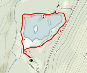 Gold Creek Pond Trail Map