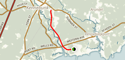 Kennebunk Bridle Path Map
