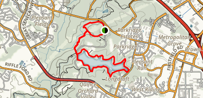 Old Pond Trail and Clopper Lake Loop Trail Map