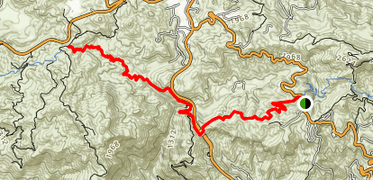 Newton Canyon Trail Map