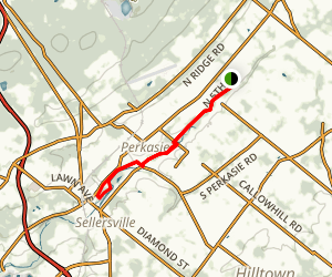 Perkiomen Creek Trail Map