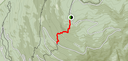 Meadows in the Sky Trail Map