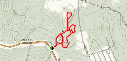Rock House Reservation Trail Map
