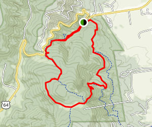 Elliot Barker Trail Map