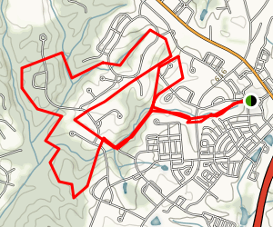 Baxter Trails Map