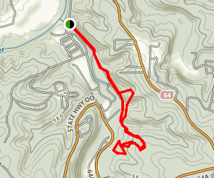 Whistle Trail Map