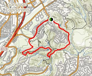 Dana Hills Loop Trail Map