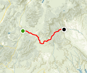 Utah Highway 12 Scenic Byway: Section 1 - Red Canyon to Escalante Map