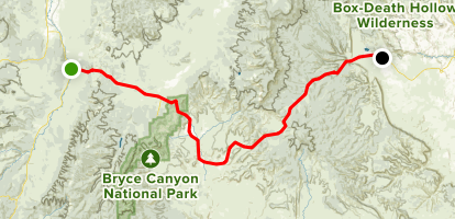 Utah Highway 12 Scenic Byway: Section 1 - Red Canyon to Escalante ...