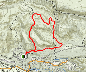 Cabra Loop Trail Map