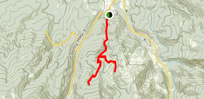 Little Vasquez Creek Trail Map