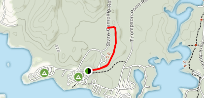 Sebago Lake State Park Trail Map