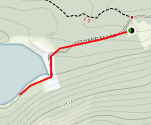 Left Hand Reservoir Trail Map