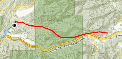 The Sheep Trail Map