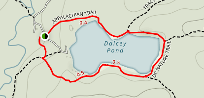 Daicey Pond Nature Trail Map