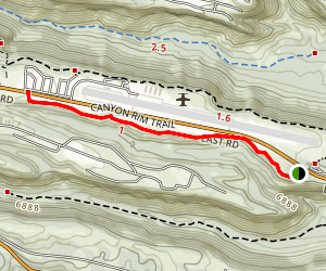 Canyon Rim Trail Map