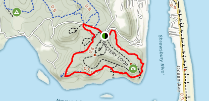 Rocky Point Loop Trail Map