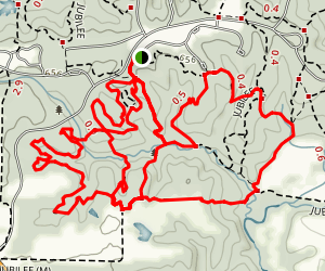 Jubilee Loop Trail Map