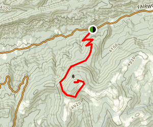 Mount Rogers Trail Map