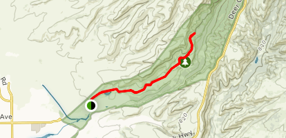 Middle Trail Map