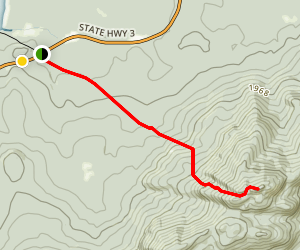 Ampersand Mountain Trail Map