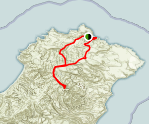 El Montanon Trail Map