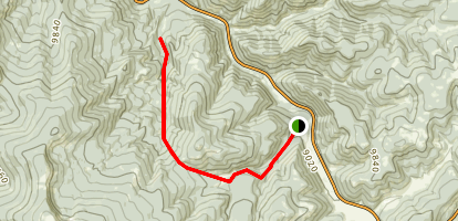 West Fork Angostura Trail Map