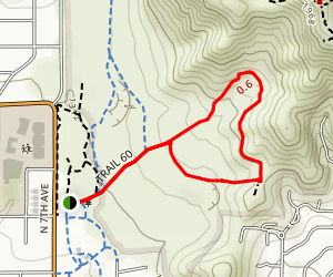Maxine Lakin Nature Trail Map
