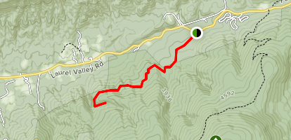 Grassy Branch Trail Map