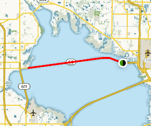 Courtney Campbell Causeway West Trail Map