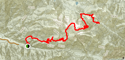 North Fork Meadows Trail Map