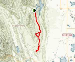 Blue Sky Trail Map