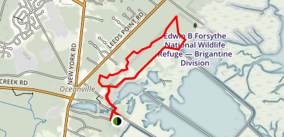 Monroes Swamp Road Loop Map