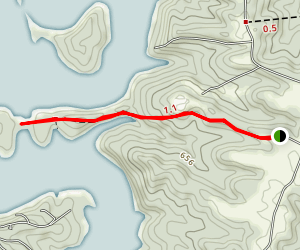 Nolin Lake Trail Map