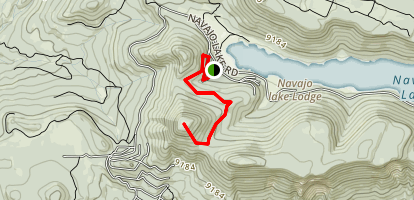 Andy Nelson Peak Map